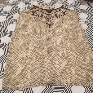 Ecote Embellished Mini Dres